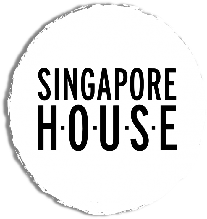 singapore house logo white circle
