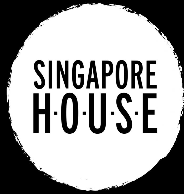 singapore house logo white circle